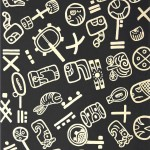 glifos-maya-grafito