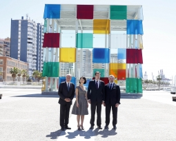 Inauguration of the Centre Pompidou Málaga