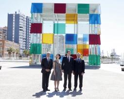 Inauguración Museo Pompidou Málaga